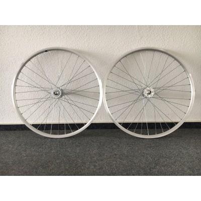 Fixie / Singlespeed Laufrad Komplettsatz in Silber