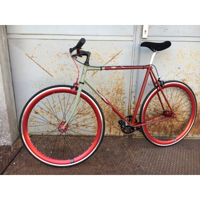 "Stahl Fixie / Singlespeed ""The Red Snapper"